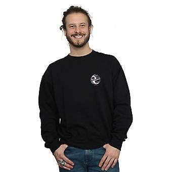 Star Wars Men's Death Star Chest Print Sweatshirt