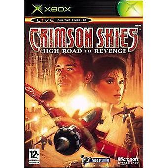 Crimson Skies (Xbox) - Novo