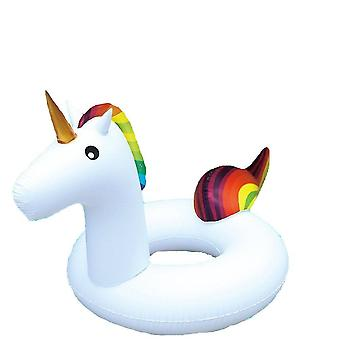 Inflatable Unicorn Ring Pool Float Beach Holiday Swimming Water Beach