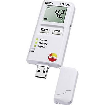 testo 184 H1 Multi-channel data logger Unit of measurement Temperature, Humidity -20 up to +70 °C 0 up to 100 RH
