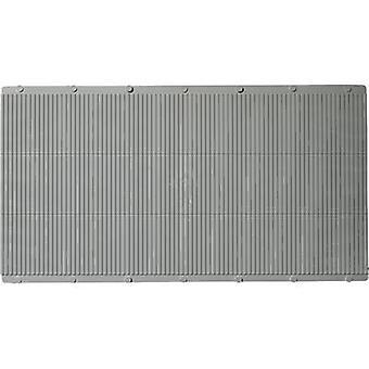 Auhagen 52433 H0, TT גיליונות פלסטיק אפור (L x W) 200 מ