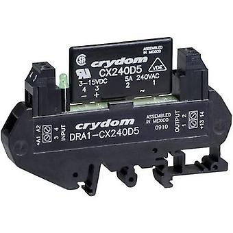 Crydom DRA1-CXE240D5 DIN Rail Mount Solid State Relay, AC
