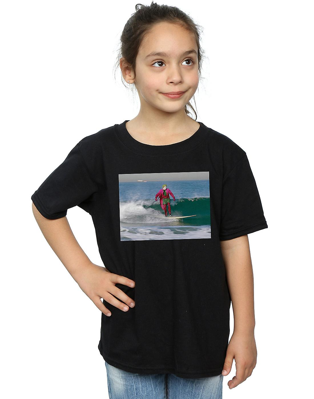 DC Comics Girls Batman TV Series Joker Surfing T-Shirt