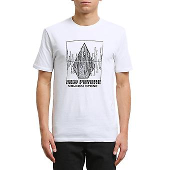Volcom Lay It Down Short Sleeve T-Shirt in White