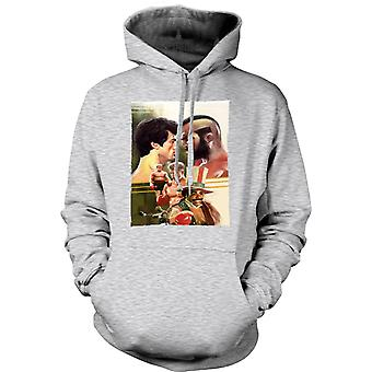 Womens Hoodie - Rocky - Box-Film - Collage