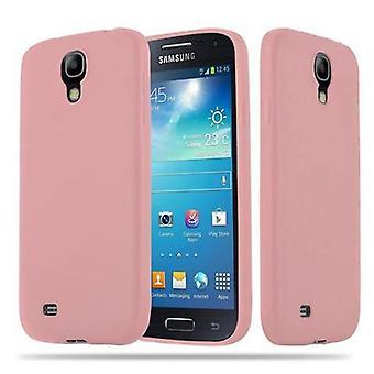Cadorabo Case för Samsung Galaxy S4 fall Cover-flexibel TPU silikonfodral Case Ultra Slim soft tillbaka täcker Case stötfångare