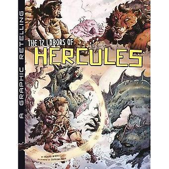 De 12 arbeid van Hercules: een grafische navertellen (oude mythen)