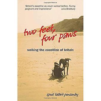 Deux pieds, quatre pattes: Marche le littoral de la Bretagne