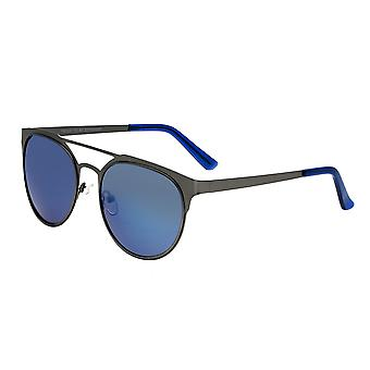 Breed Mensa Titanium Polarized Sunglasses - Gunmetal/Blue