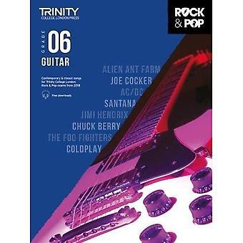 Trinity Rock & Pop 2018 gitarr Grade 6 - Trinity Rock & Pop 2018 (noter)