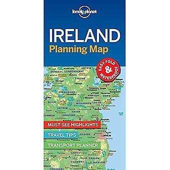 Lonely Planet Irlande planification Map (carte)