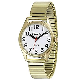 Ravel Classic Unisex Quartz analogue watch with stainless steel band R 0225.02.2