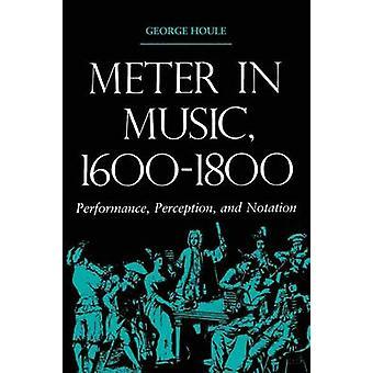Metro en la percepción de rendimiento de música 1600 1800 y notación por Houle y George