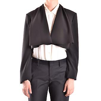 Elisabetta Franchi Ezbc050017 Women's Black Polyester Cardigan