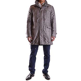 John Richmond Ezbc082091 Men's Grey Nylon Outerwear Jacket