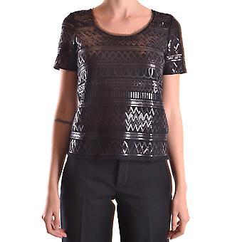 Liu Jo Ezbc086099 Dames's Black Polyester T-shirt