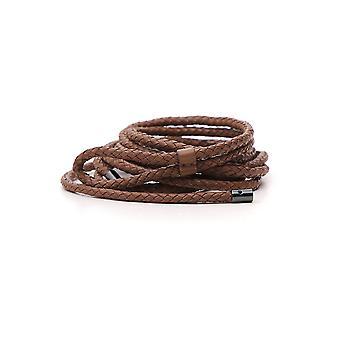Brunello Cucinelli M0nagc129c6067 Women's Brown Leather Belt