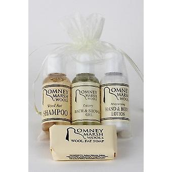 Reizen van toiletartikelen cadeauset – B & S Gel, Shampoo + handwas