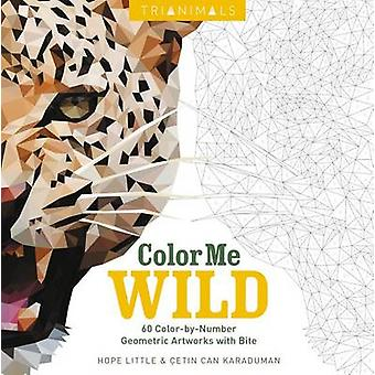 Trianimals - Color Me Wild - 60 Color-By-Number Geometric Artworks with