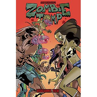 Zombie Tramp Volume 10 - Gory Road by Jason Martin - 9781632292544 Book