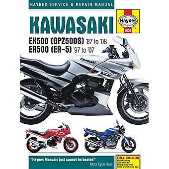 Kawasaki EX500 (GPZ500s) & ER500 (ER-5) Motorcycle Service and Repair