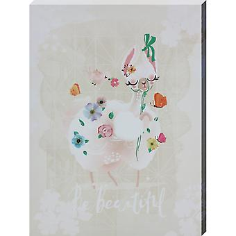 Grindstore Be Beautiful Canvas Print