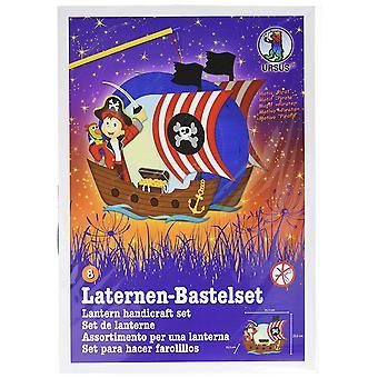 Ursus Lantern Craft Kit Pirate Ship Toy
