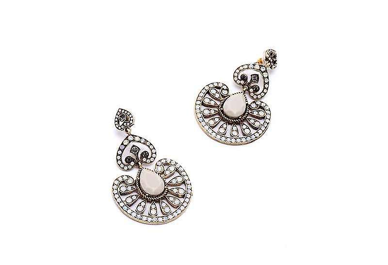 Fashion Chandelier Warrior Queen Dangle Drop Earrings