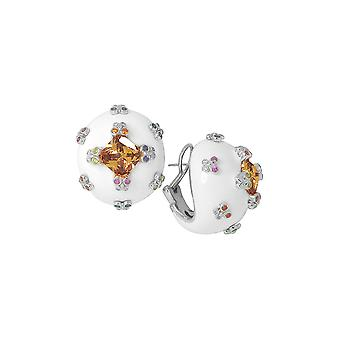 Belle Etoile White Farfalla Allegra Earrings 03020910804
