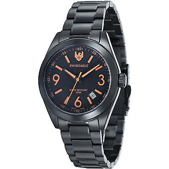 Swiss Eagle SE-9058-66 Heren Horloge