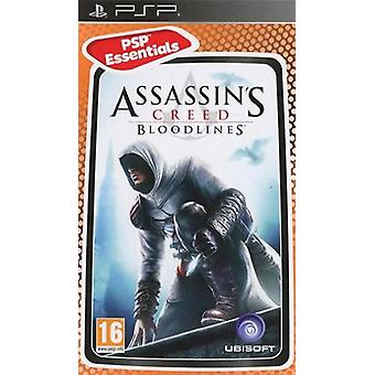 PSP Assassins Creed blodlinier PSP Essentials spil