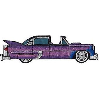 Patch - Automoblies - Purple Hot Rod with Moon Iron On Gifts New Licensed p-3778