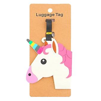 Baggage tag-Unicorn #2