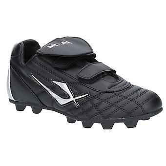 Mirak Mens Forward Football Touch Fastening Boot Black