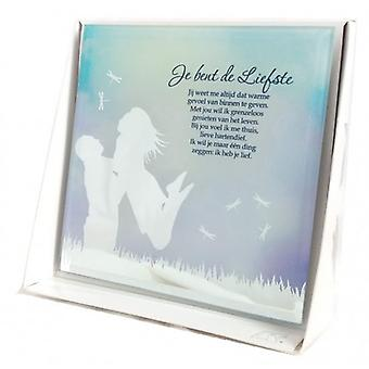 Silver Silhouette Mirror you are the sweetest