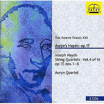 J. Haydn - Haydn: String Quartets, Op. 17 [CD] USA import