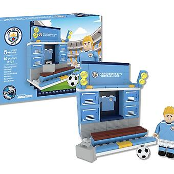 Nanostars Manchester City FC Changing Room Set