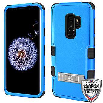 MYBAT Natural Dark Blue/Black TUFF Hybrid Phone Protector Cover  for Galaxy S9 Plus