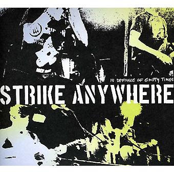 Strike Anywhere - In Defiance of Empty Times [CD] USA import