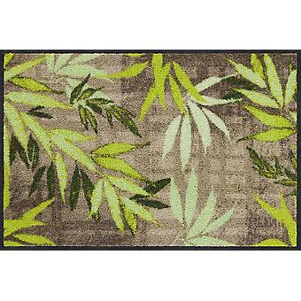 Salonloewe doormat Bamboo nature 50 x 75 cm washable dirt mat
