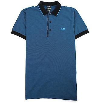Hugo Boss Paule 4 Short Sleeve Polo Shirt Blue