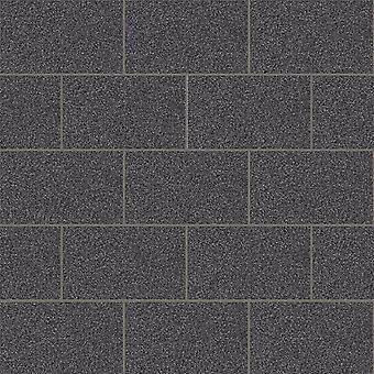 Crown London Tile Glitter Wallpaper