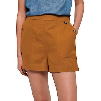 Superdry Mila Culotte Shorts Amarillo 92