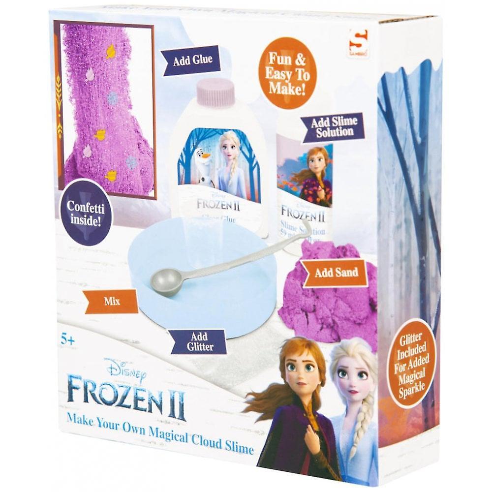 Disney fryst Frozen 2 gör din egen magiska moln slem