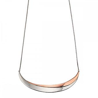 Fiorelli Silver Wave Collar Necklace N4268