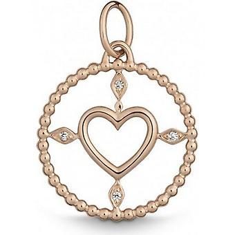 QUINN - Anheng - Kvinner - Rose Gold 750 - Topp W. (G)si. - 8240229