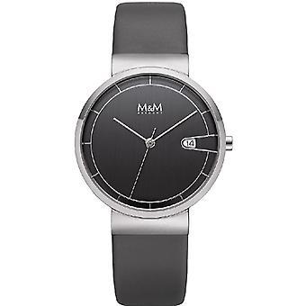 M & M Germany M11953-945 Date Ladies Watch