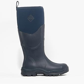Muck Boots Greta Ii Max Ladies Rubber Wellington Boots Navy