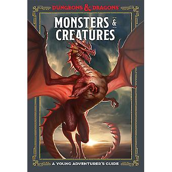 D&D Monsters and Creatures A Young Adventurer's Guide - Gaming Book