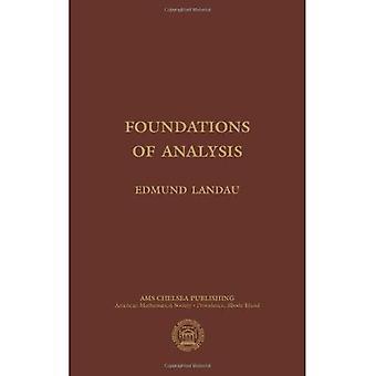Foundations of Analysis (AMS Chelsea Publishing)